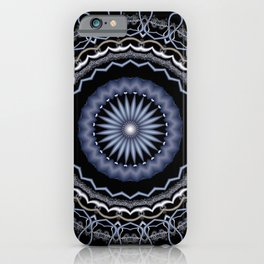 symmetry on black -04- iPhone Case