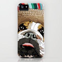 Cinco de Bulldog iPhone Case