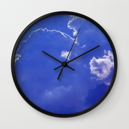 Clouds over Baden-Wurttemberg Wall Clock