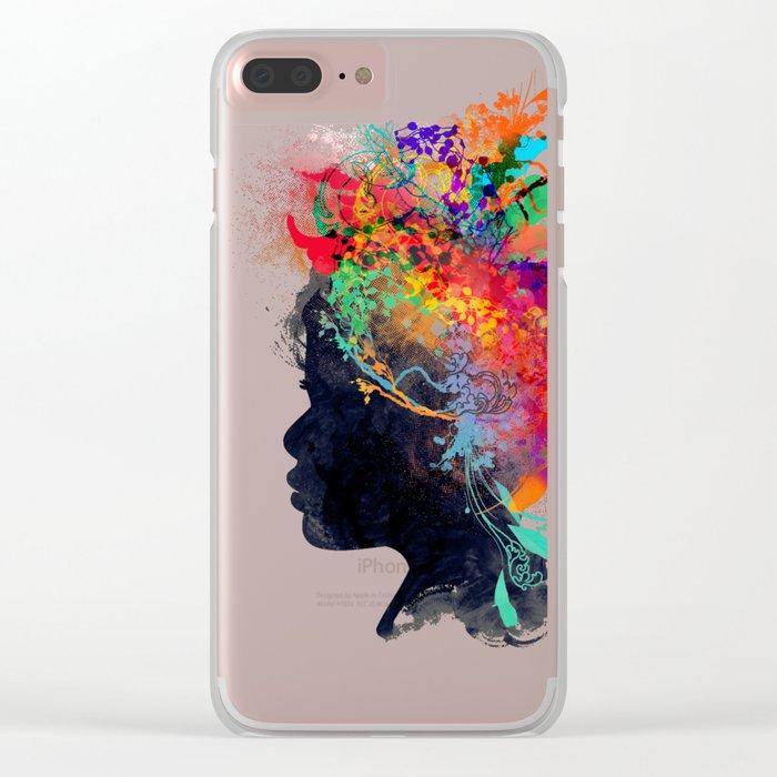 Wildchild (aged ver) Clear iPhone Case