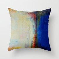 sail Throw Pillows featuring Sail by Liz Moran