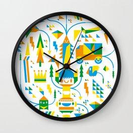 Shape-A-Licious Wall Clock