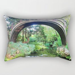 Bridge of serenity Rectangular Pillow