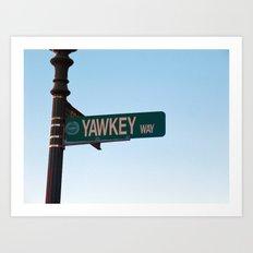 yawkey way Art Print