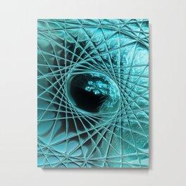 Turquoise Solitude (2/3) Metal Print