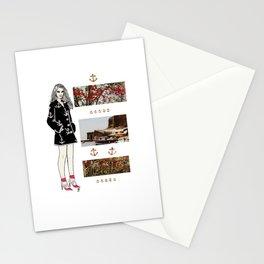 Nautical Coat Stationery Cards