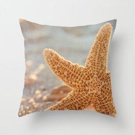 Sugar Starfish Throw Pillow