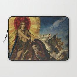 """Gustave Moreau """"Le char d'Apollon ou Phébus-Apollon"""" Laptop Sleeve"""