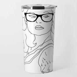 Hipster Belle Travel Mug