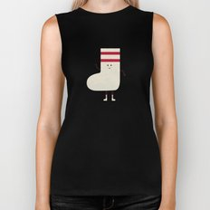 A Sock With Socks Biker Tank