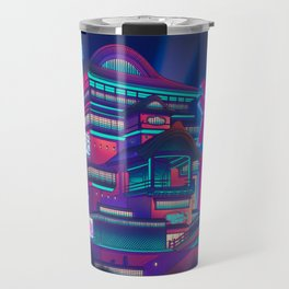Neon Bath House Travel Mug