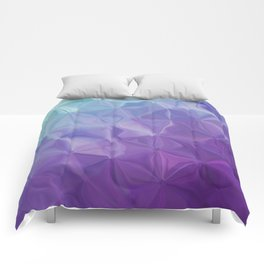 Abstract painting color texture Comforters
