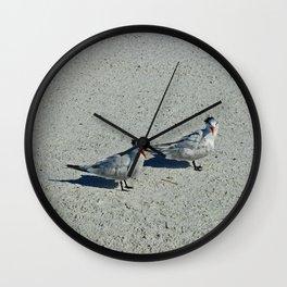 Beach Hair Wall Clock
