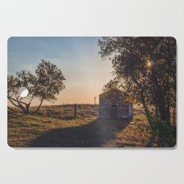 Abandoned Farmstead, North Dakota 2 Cutting Board