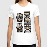 tiki T-shirts featuring Tiki Tiki by Ceskus