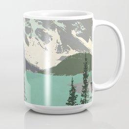Moraine Lake Poster Coffee Mug