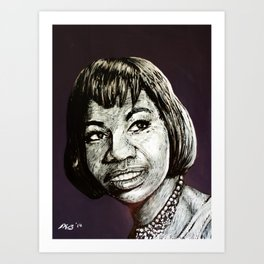 Nina Simone #3 (Sweet Thing) Art Print