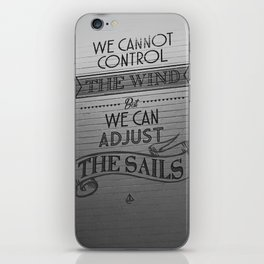 Lido words of wisdom iPhone Skin
