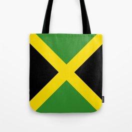 Flag of Jamaica-Jamaican,Bob Marley,Reggae,rastafari,weed,cannabis,ganja,america,south america,ragga Tote Bag