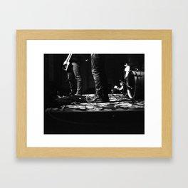 Chemistry the Band Framed Art Print