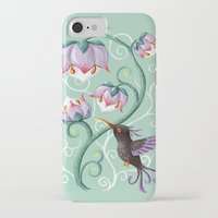 hummingbird iPhone & iPod Cases featuring Hummingbird by Freeminds