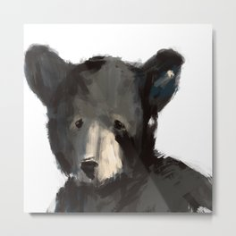 Blair Bear Metal Print