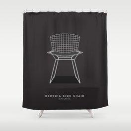 Bertoia Side Chair - Harry Bertoia Shower Curtain