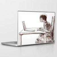 gamer Laptop & iPad Skins featuring Gamer by Jonas Ericson