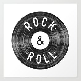 Rock & Roll Art Print