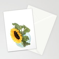 Sunflower in a Vase.... Stationery Cards