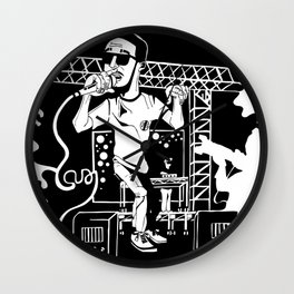 Man on the moon Wall Clock