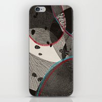 dance iPhone & iPod Skins featuring Dance by Julia Tomova