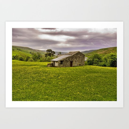 The Stone Barn Art Print