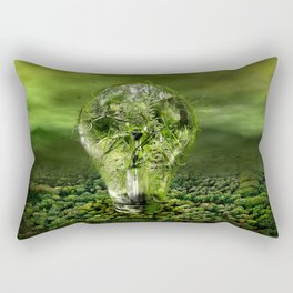 The old bulb culture Rectangular Pillow