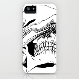 Skull #2 (Liquify) iPhone Case