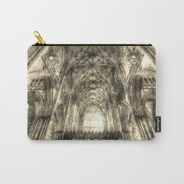 York Minster Vintage Carry-All Pouch