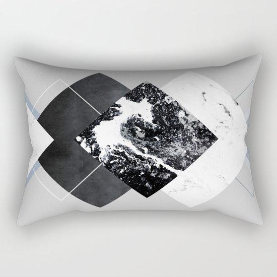 Geometric Textures 5 Rectangular Pillow