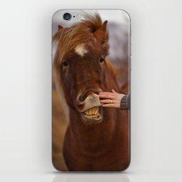 Horse Teeth iPhone Skin