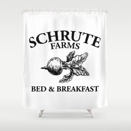 Schrute Farms Shower Curtain