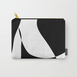 Minimalist Black and White 82 Carry-All Pouch
