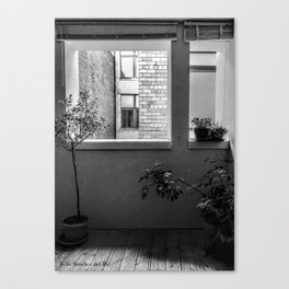 The Appartment Canvas Print