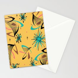 Mid Century Modern Retro Stationery Cards