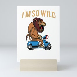 Scooter Bike Scoot Moped Mini Art Print