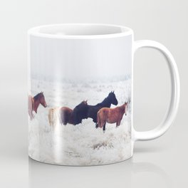 Winter Horseland Coffee Mug