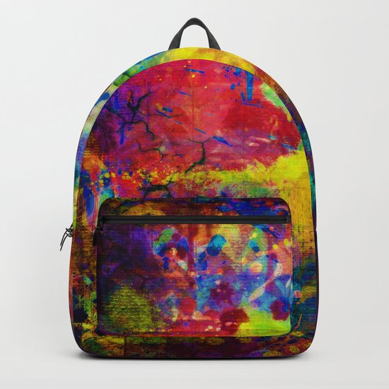 colorful canvas ii Backpack