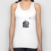 tooth Tank Tops featuring Tooth by Samize