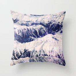 The Mountains Climbed Throw Pillow