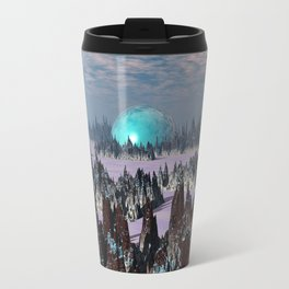 Sci Fi Landscape Travel Mug