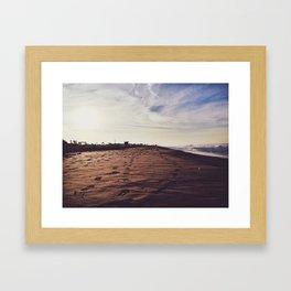 Mornings with Venice Framed Art Print