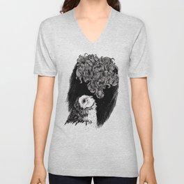 Owl Smoke Unisex V-Neck
